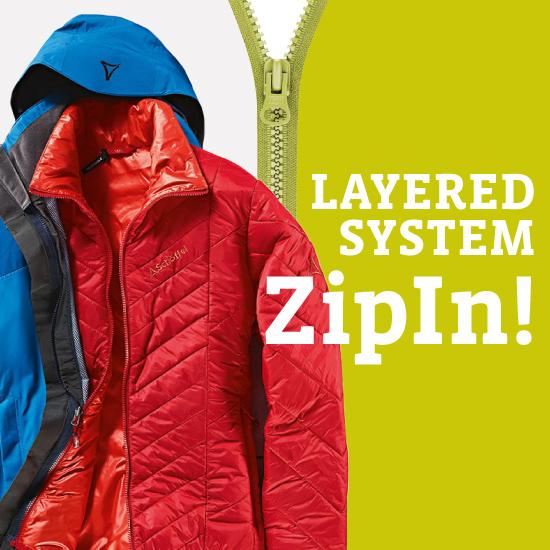 LAYERD SYSTEM ZipIn!